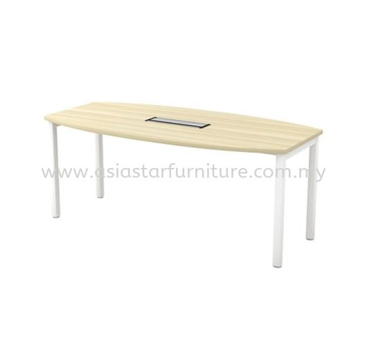 MUPHI BOAT SHAPE MEETING OFFICE TABLE ASBB18 (C/W FLIPPER COVER)