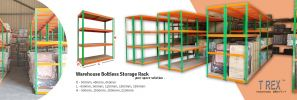 New Products - T Rex Warehouse Boltless Storage Rack