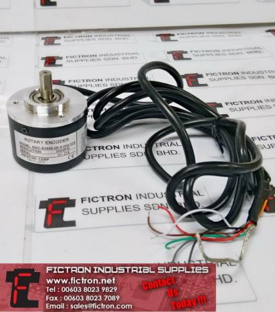 NOC-S5000-2D-8-050-32A NOCS50002D805032A NEMICON Rotary Encoder Supply Malaysia Singapore Indonesia