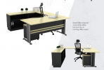 T-T11 Executive Series Office Working Table Office Furniture