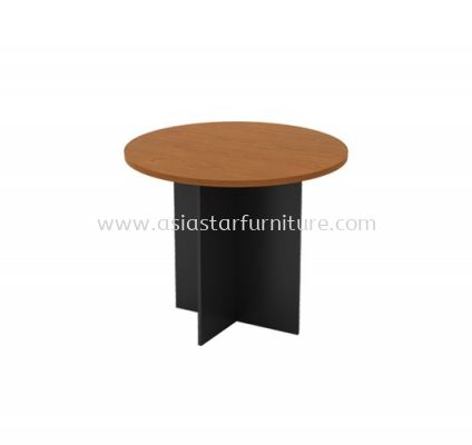 ROUND MEETING TABLE C/W WOODEN BASE GR 90