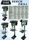 16mm, 20mm & 25mm Bench Drilling Machine Bench Drilling / Milling