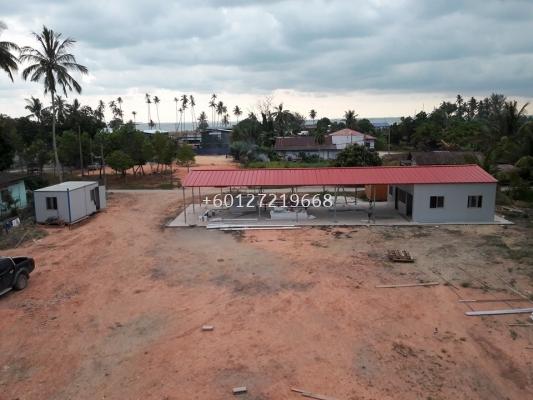 Labour Camp (Canteen) at Pengerang Johor