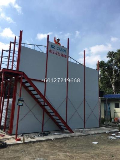 500 people Labour Camp at Pengerang Johor