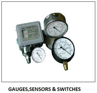 GAUGES , SENSORS & SWITCHES - PRESSURE