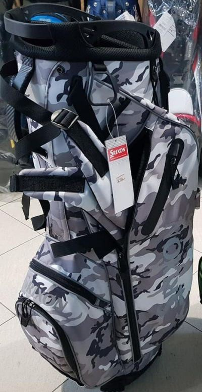 Srixon Camo Grey Beret Limited Release Stand Bag 2019