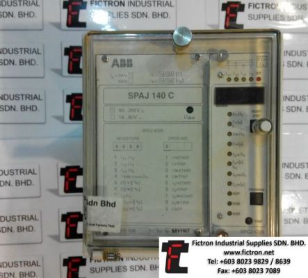 ABB SPAJ140C SPAJ-140C CONTROLLER SUPPLY REPAIR MALAYSIA SINGAPORE INDONESIA USA