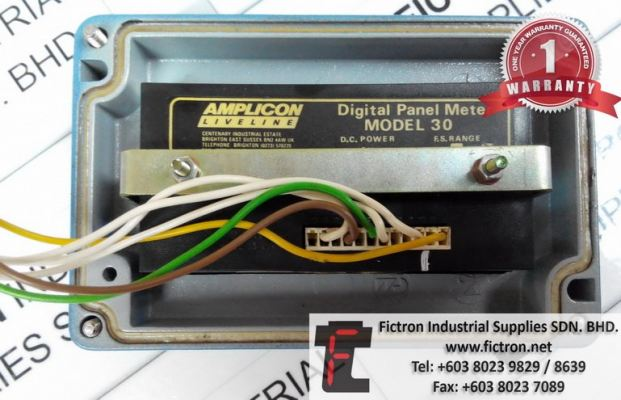 AMPLICON LIVELINE DIGITAL PANEL METER MODEL 30 REPAIR MALAYSIA SINGAPORE INDONESIA USA