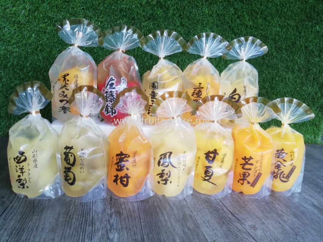 Jelly Fruit Japan 12种口味 Juices & Dried Goods Malaysia