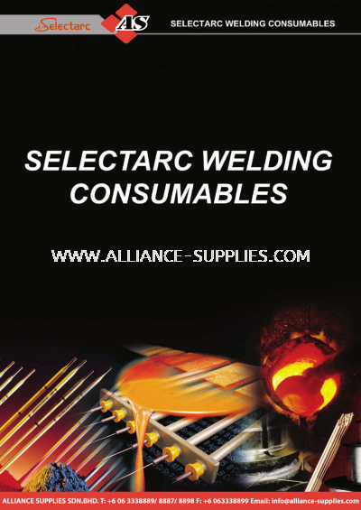 27.21 SELECTARC Welding Consumables