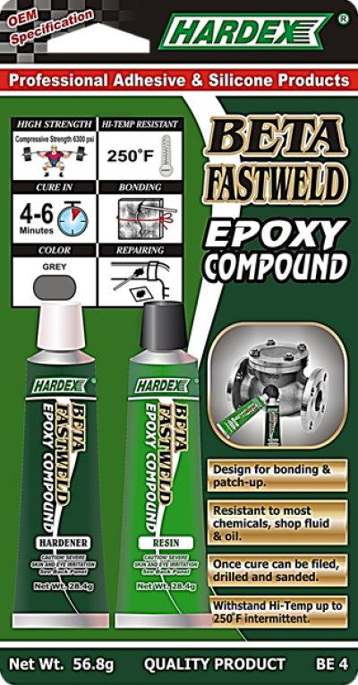 BETA FASTWELD EPOXY COMPOUND BE 4