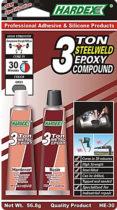 3 TON METALWELD EPOXY COMPOUND HE 30