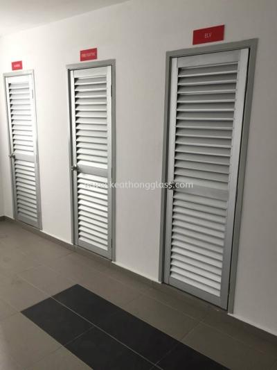 ALU LOUV DOOR 1