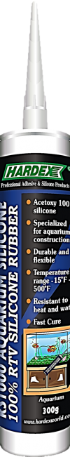 RS 1000 CLEAR 100% RTV AQUARIUM SILICONE RS 1000 SILICONE, SEALANT & CONSTRUCTION