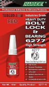 HEAVY DUTY BEARING & BOLT LOCK �C 6277-10 THREAD LOCK / CYANOARCYCLIC
