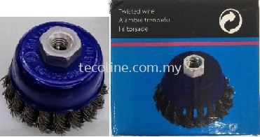 TSB Twisted Knot Cup Brush