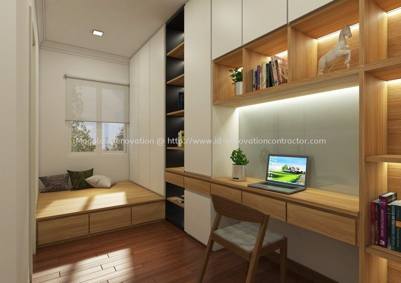 Anjung Sari, Setia Alam Terrace / Link House Interior Design Residential