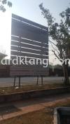project signboard at rawang Kuala Lumpur CONSTRUCTION BOARD