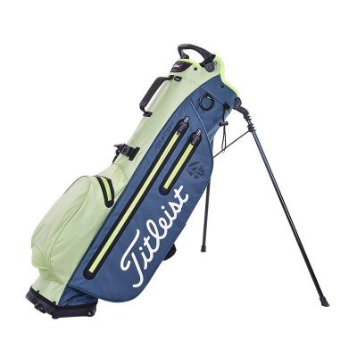 PLAYERS 4UP STADRY STAND BAG LIME GREEN