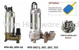 EVERGUSH SEWAGE PUMP STAINLESS STEEL 316 S/STEEL SUBMERSIBLE SEWAGE PUMPS Evergush