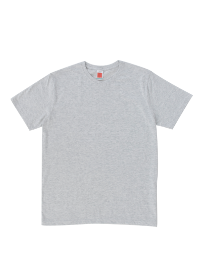 CT6009 Ash Grey Oren Sport Cotton Round Neck Short Sleeve Plain Tee