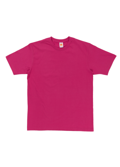 CT6026 Magenta Oren Sport Cotton Round Neck Short Sleeve Plain Tee