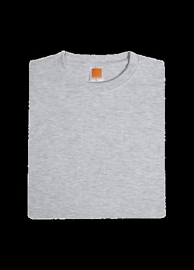 CT7109 Ash Grey Oren Sport Cotton Round Neck Short Sleeve Plain Tee