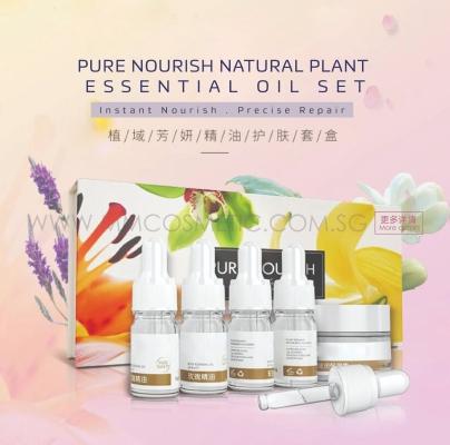 Pure Nourish Natural Plant Essential Oil Set