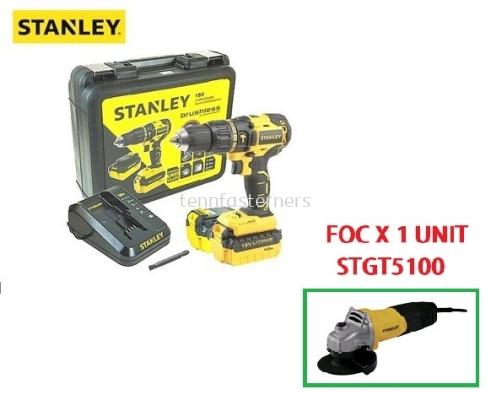 STANLEY 18V MAX BRUSHLESS HAMMER DRILL SBH201M2/D2