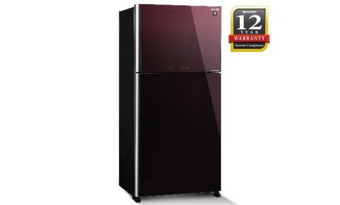 SHARP 720L 2 DOOR REFRIGERATOR SJP88MFGM