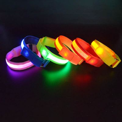 Wristband / Armband with LED lights for night event