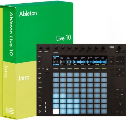 Ableton Push 2 with Live 10 Intro