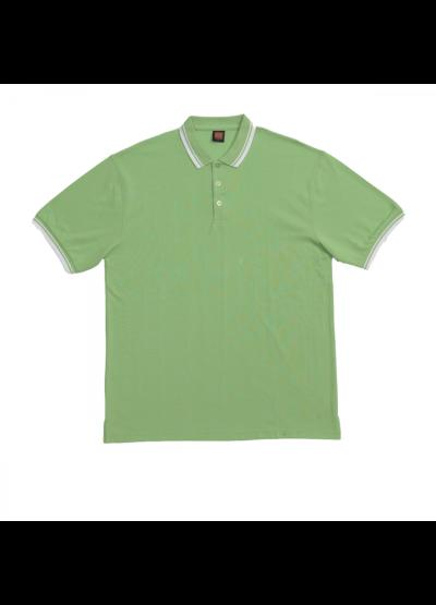 HC1013 Lime Green Oren Sport Honeycomb Short Sleeve Polo Tee