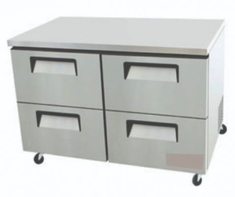 Four Half Door Drawer W/ Under Counter Refrigerator