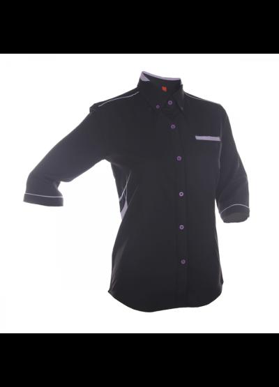 F13502 Black Oren Sport F1 Uniform Long Sleeve