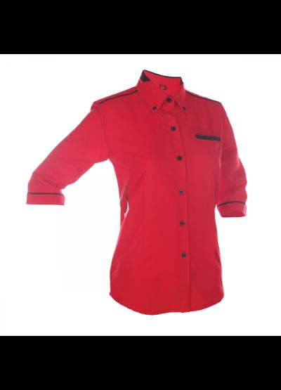 F13505 Red Oren Sport F1 Uniform Long Sleeve