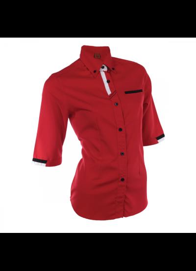 F12705 Red Oren Sport F1 Uniform Long Sleeve