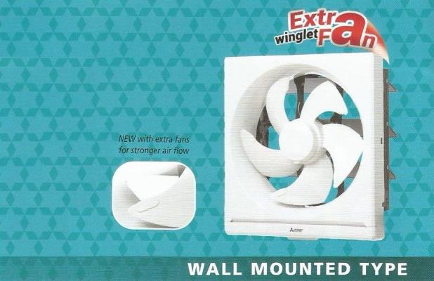 MITSUBISHI ELECTRIC WALL MOUNTED VENTILATION FAN EX-20SHC ( 8 inch )