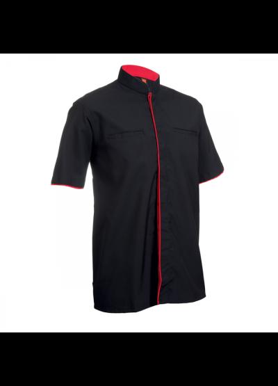 F11801 Black Oren Sport F1 Uniform Short Sleeve