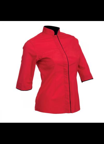 F11905 Red Oren Sport F1 Uniform Long Sleeve