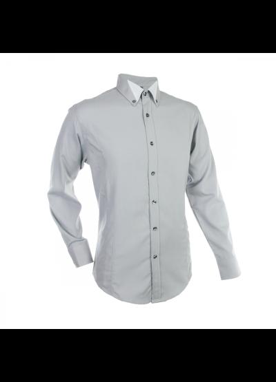 SH0112 Light Grey Oren Sport Shirt Long Sleeve