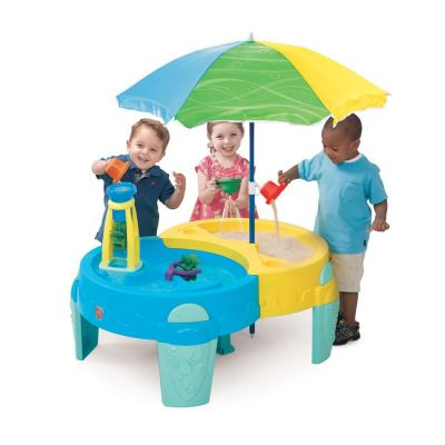 800700 Shady Oasis Sand & Water Play Table
