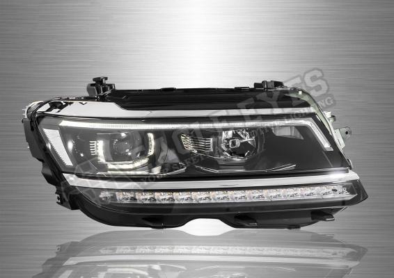 Volkswagen Tiguan Projector LED Sequential Signal Headlamp 17-19