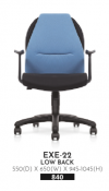 ACHELOUS LOW BACK CHAIR EXE-22 Chair  Office Furniture