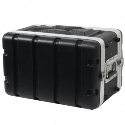 ABS Microphone Flight Case - 6US (8 inch depth)