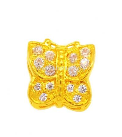 Butterfly with Zircon Stone (2.83 g)