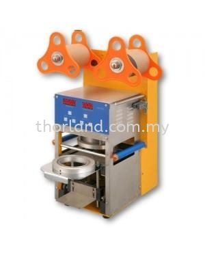 AUTOMATIC PLASTIC CUP SEALING MACHINE Kitchen Appliances