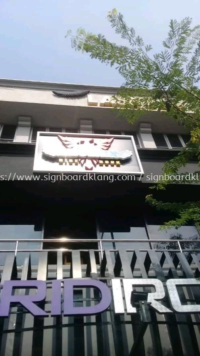 Phoenix Rise & Rock Pub 3D led channel box up led signage signboard at Petaling jaya Kuala Lumpur
