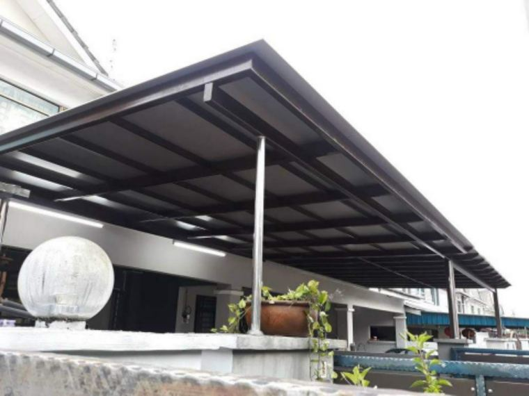 To supply & installation ACP awning