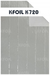 (K720) D/S Reflective Aluminium Paper Foil, Polyester Yarn Reinforced Double Sided Paper Foil